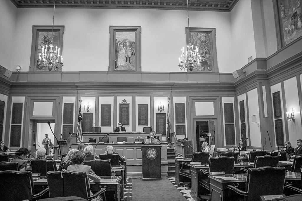 Reproductive Associates of Delaware Ronald Feinberg Testifies for SB139