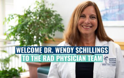 Welcome Dr. Wendy Schillings To The RAD Physician Team