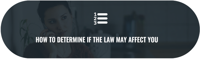 How to Determine if SB139 May Affect You