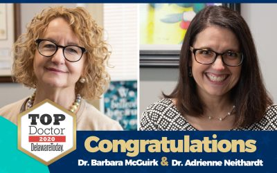 Drs. Barbara McGuirk and Adrienne Neithardt Named 2020 Delaware Top Docs