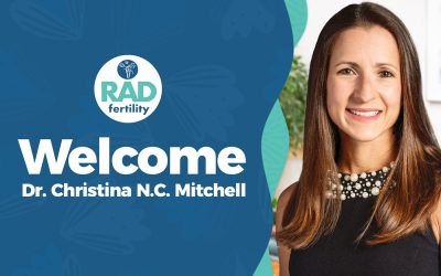 Welcome Dr. Christina Mitchell to the RADfertility Physician Team