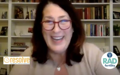 Eileen Davies Joins Resolve's Kitchen Table Series to Discuss Clinical Trials