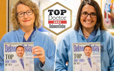 Drs. Barbara McGuirk and Adrienne Neithardt Featured in Delaware Today Magazine as Top Doctors in 2021